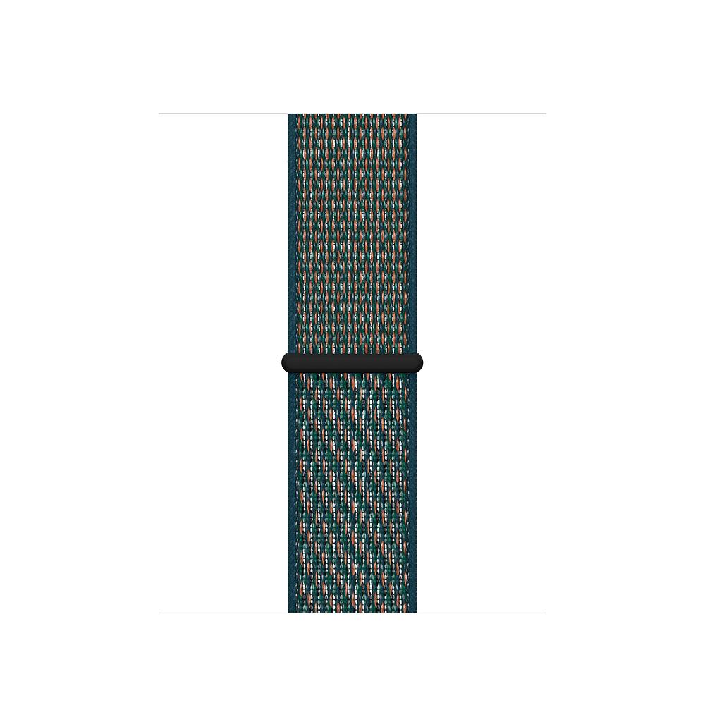 Apple MXN22ZM/A smartwatch accessory Band Crimson,Green Nylon