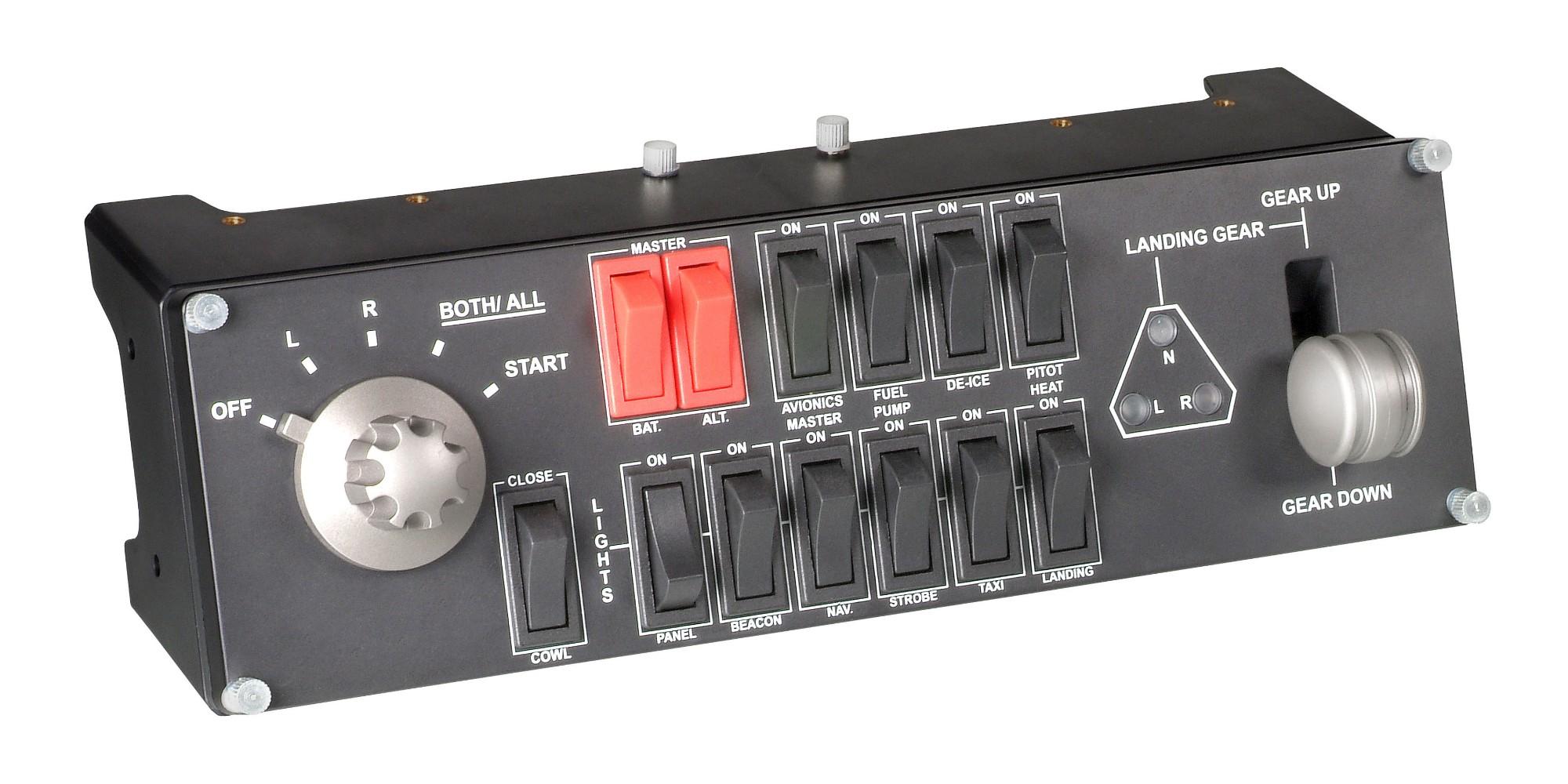 Logitech G Pro Flight Switch Panel Flight Sim