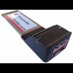 Dynamode 2 Port ESATA Adaptor Express Card (34mm)