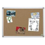 Bi-Office CA031790 bulletin board Fixed bulletin board Brown