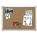 Bi-Office CA031790 Fixed bulletin board Brown