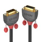 Lindy 36230 DVI cable 0.5 m DVI-D DVI-I Black