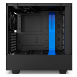 NZXT H500 Midi-Tower Black, Blue computer case