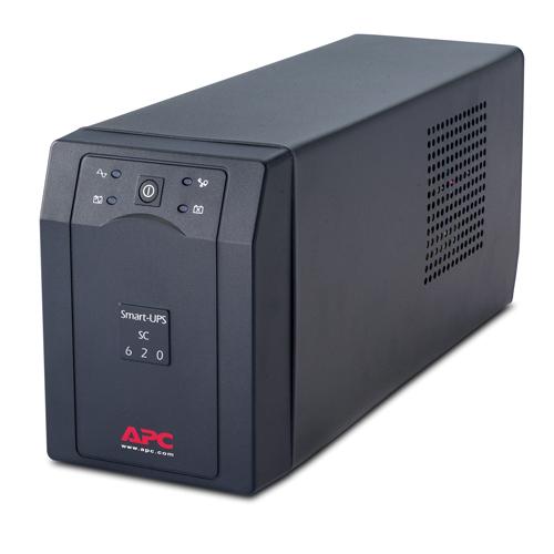 APC Smart-UPS sistema de alimentación ininterrumpida (UPS) Línea interactiva 620 VA 390 W 4 salidas AC