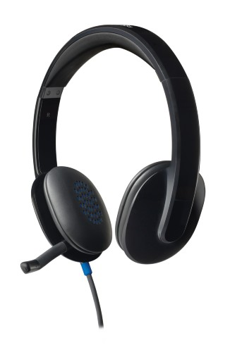 Logitech H540 Binaural Head-band Black headset