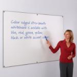 Metroplan WriteOn Coloured Edge whiteboard