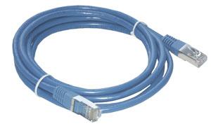 MCL Cable RJ45 Cat5e 15m Blue cable de red Azul