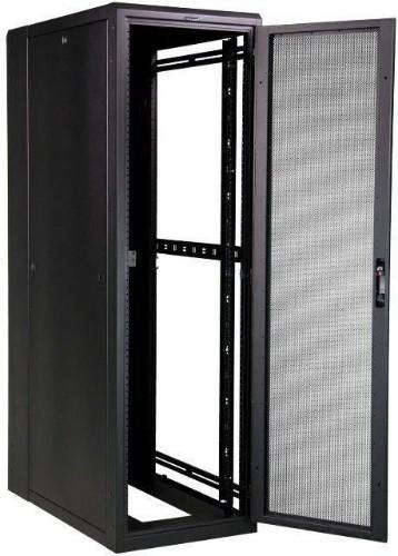 Lanview LVR244034 rack cabinet 27U Freestanding rack Black