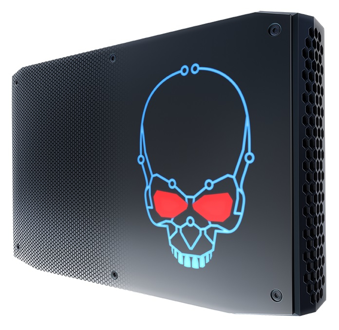 Intel NUC BOXNUC8I7HNK2 PC/workstation barebone i7-8705G 3.1 GHz 1.2L sized PC Black BGA 2270