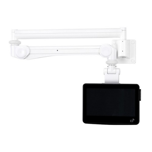 """Newstar Medical Monitor Wall Mount (Full Motion gas spring) for 10""""-24"""" Screen - White"""