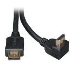 Tripp Lite High Speed HDMI Cable with 1 Right Angle Connector, Ultra HD 4K x 2K, Digital Video with Audio (M/M), 1.83 m