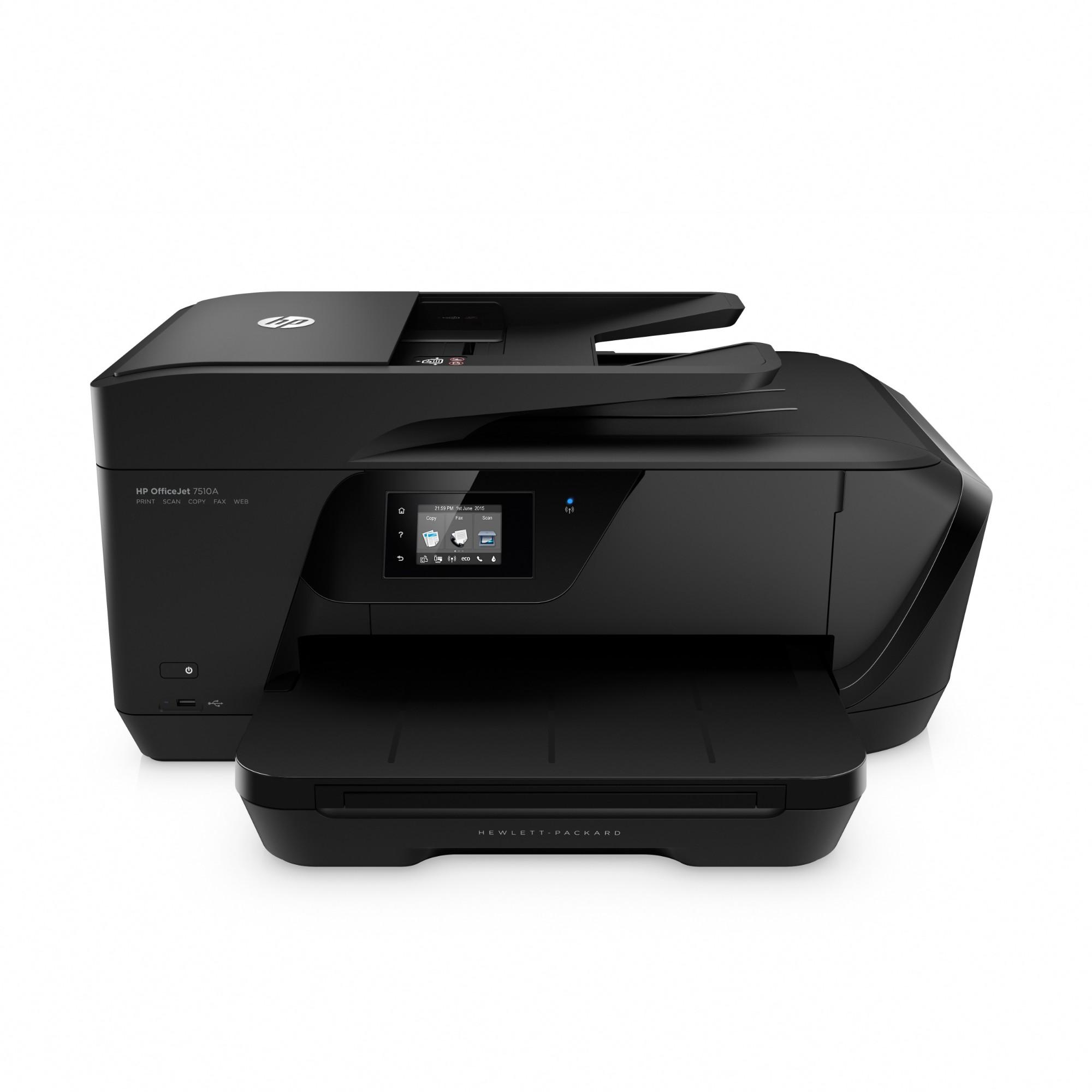HP OfficeJet 7510 Thermal Inkjet 15 ppm 4800 x 1200 DPI A3 Wi-Fi
