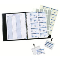 Durable Visitor Book 100 Inserts Refill
