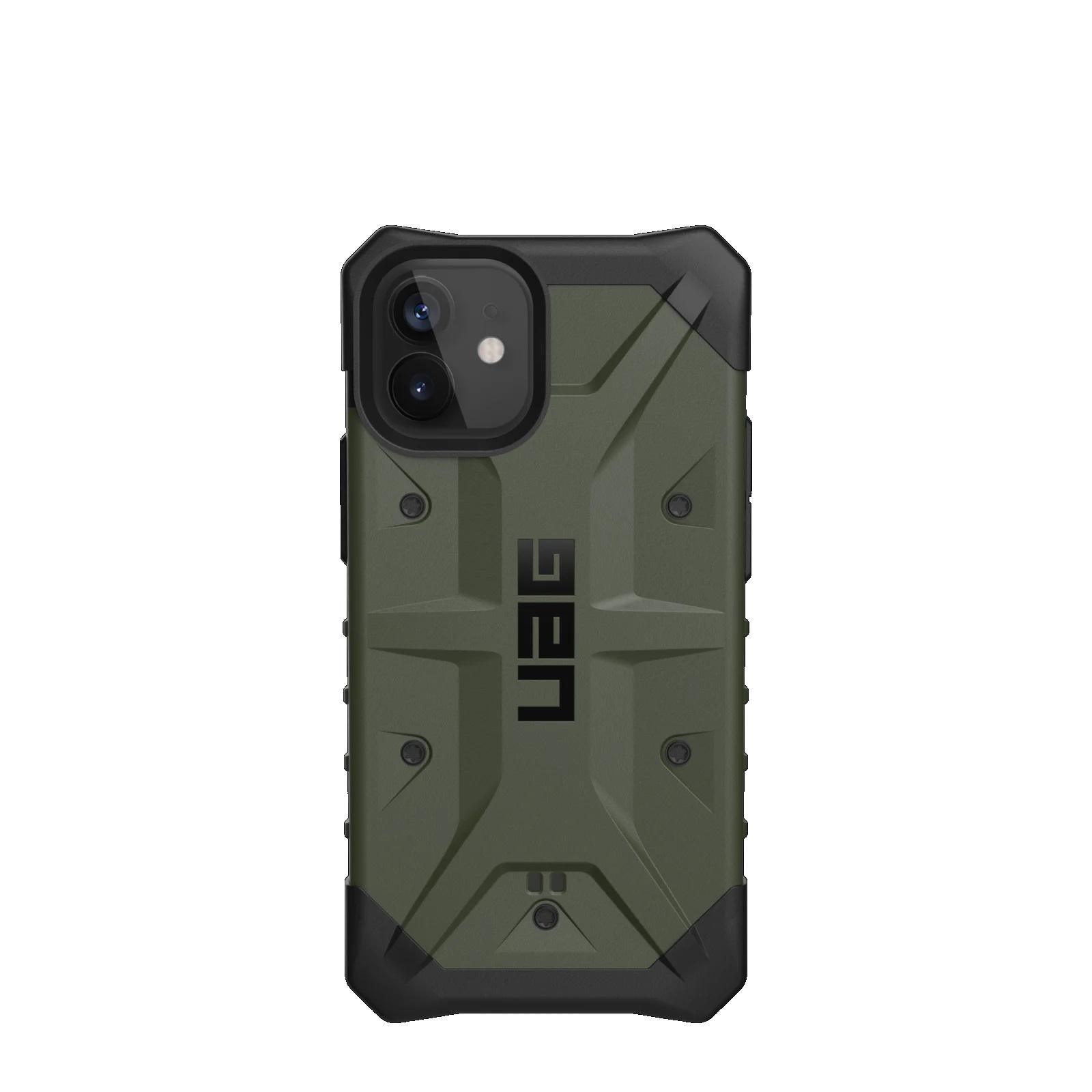 """Urban Armor Gear Pathfinder funda para teléfono móvil 13,7 cm (5.4"""") Negro, Oliva"""