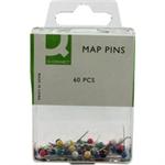 Q-CONNECT Q CONNECT MAP PINS PK60