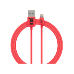 Juice JUI-CABLE-LIGHT-1M-RND-CRL lightning cable Coral