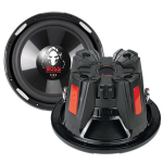 BOSS P106DVC 1050W Black subwoofer