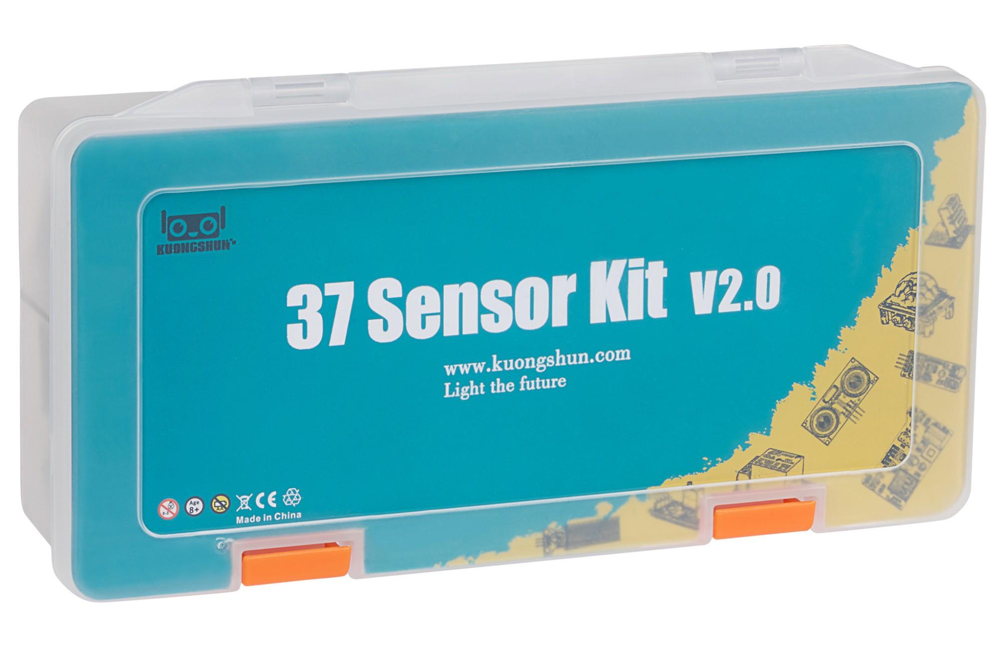 Kuongshun 37 Sensor Kit v2.0 for Arduino