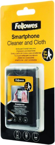 Fellowes Smartphone Cleaner + Microfibre Cloth