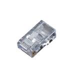 Black Box FM106 wire connector RJ-45 Transparent
