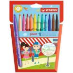 STABILO Power felt pen Medium Multicolour 12 pc(s)