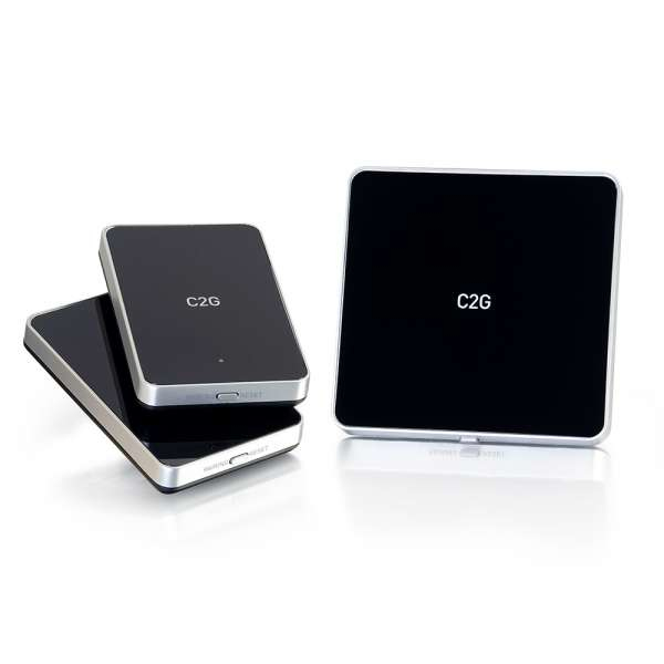 C2G WIRELESS A/V FOR HDMI DEVICES WITH 2 RECEIVER KIT