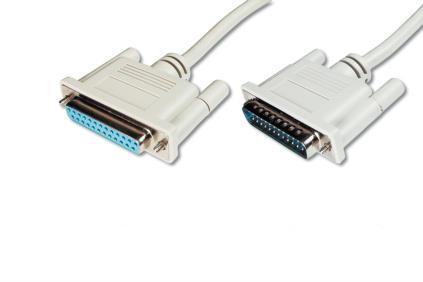 ASSMANN Electronic AK-610201-050-E parallel cable 5 m Beige