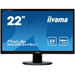 "iiyama ProLite X2283HSU-B1DP VA 21.5"" Black Full HD LED display"