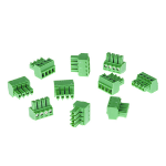 Axis 5505-251 wire connector 4-pin 3.81 Green