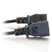 C2G 1.2m 16AWG 250 Volt Computer Power Extension Cord (IEC320 C13- IEC320 C14)