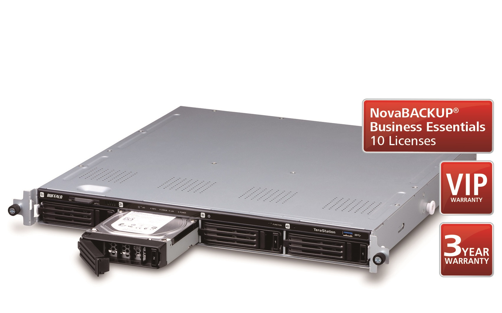 Buffalo TeraStation 1400R Ethernet LAN Black,Silver NAS