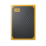 Western Digital My Passport Go 500 GB Schwarz, Yellow