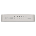 Netgear GS205 Unmanaged Gigabit Ethernet (10/100/1000) White
