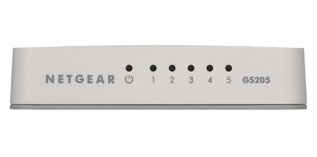 Netgear GS205 Unmanaged Gigabit Ethernet (10/100/1000) Wit