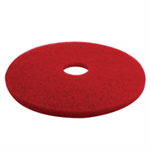 3M FLOOR PADS 17INCH 405MM RED PK5