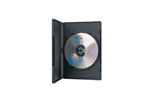 ASSMANN Electronic 64046 DVD case 1 discs Black