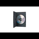 Ednet 64046 optical disc case DVD case 1 discs Black