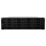 Synology RackStation RS2818RP+ Ethernet LAN Rack (3U) Black NAS