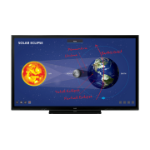 "Sharp PN-86HC1 2.18 m (86"") LED 4K Ultra HD Black Touchscreen"