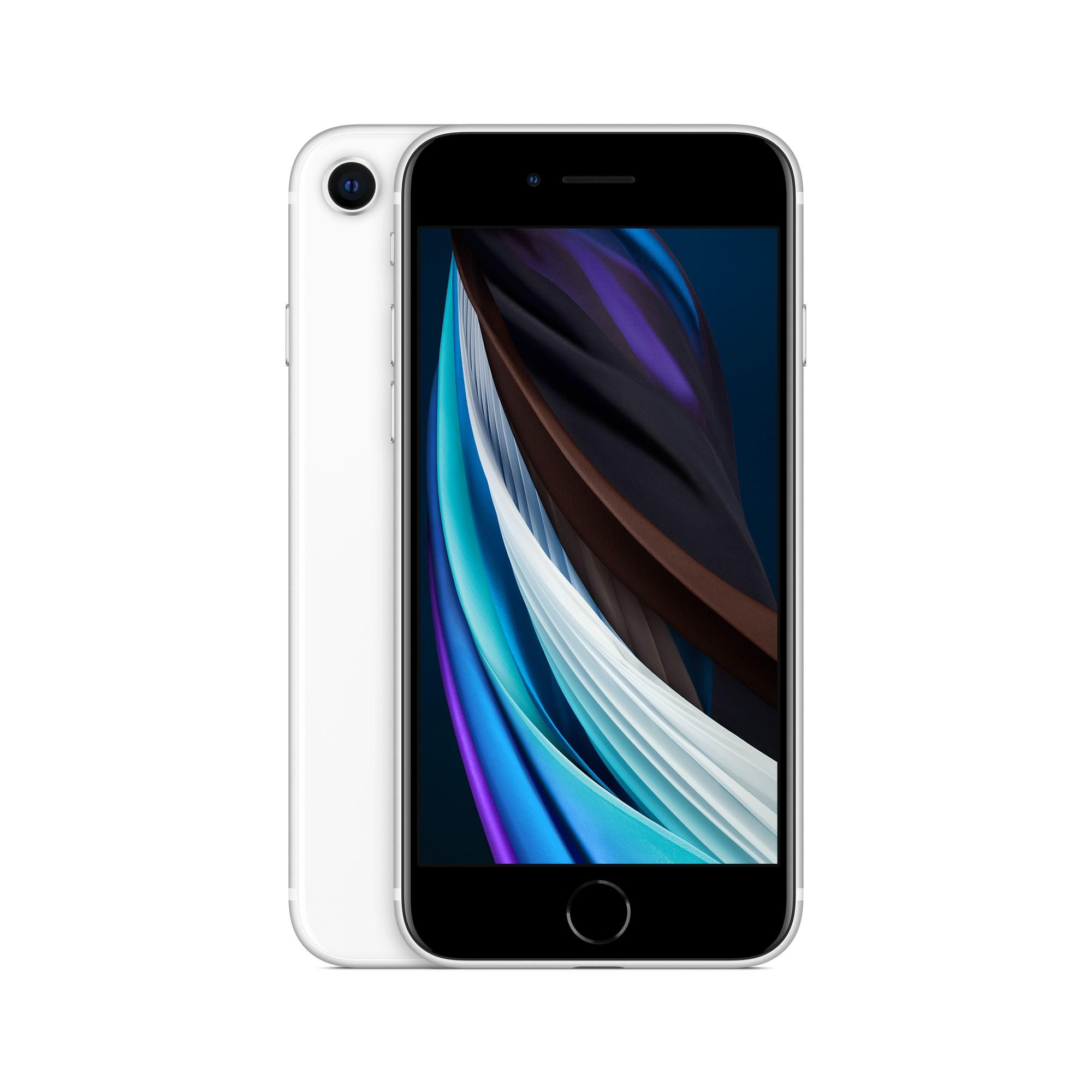 "Apple iPhone SE 11.9 cm (4.7"") 64 GB Hybrid Dual SIM 4G White iOS 14"