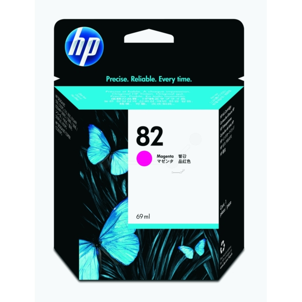 HP No 82 Ink Cartridge Magenta 69ml - C4912A