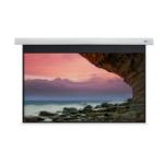 "Celexon DELUXX Cinema - 221cm x 124cm - 100"" Diag - 4K Fibre MWHT - Electric Screen"
