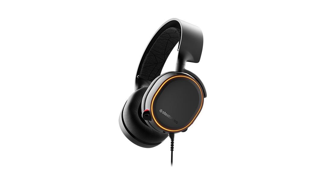 Steelseries Arctis 5 headset Binaural Head-band Black