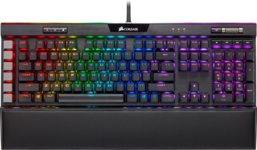 Corsair K95 RGB Platinum XT keyboard USB QWERTY Black