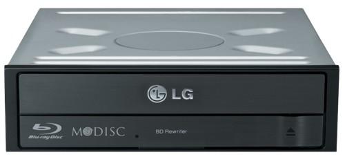 LG BH16NS55 Internal Blu-Ray DVD Combo Black optical disc drive