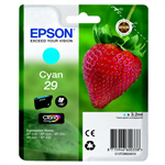 Epson C13T29824010 (29) Ink cartridge cyan, 180 pages, 3ml