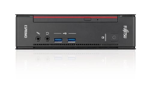 Fujitsu ESPRIMO Q558 3.10 GHz 8th gen Intel® Core™ i3 i3-8100T Black,Red Mini PC