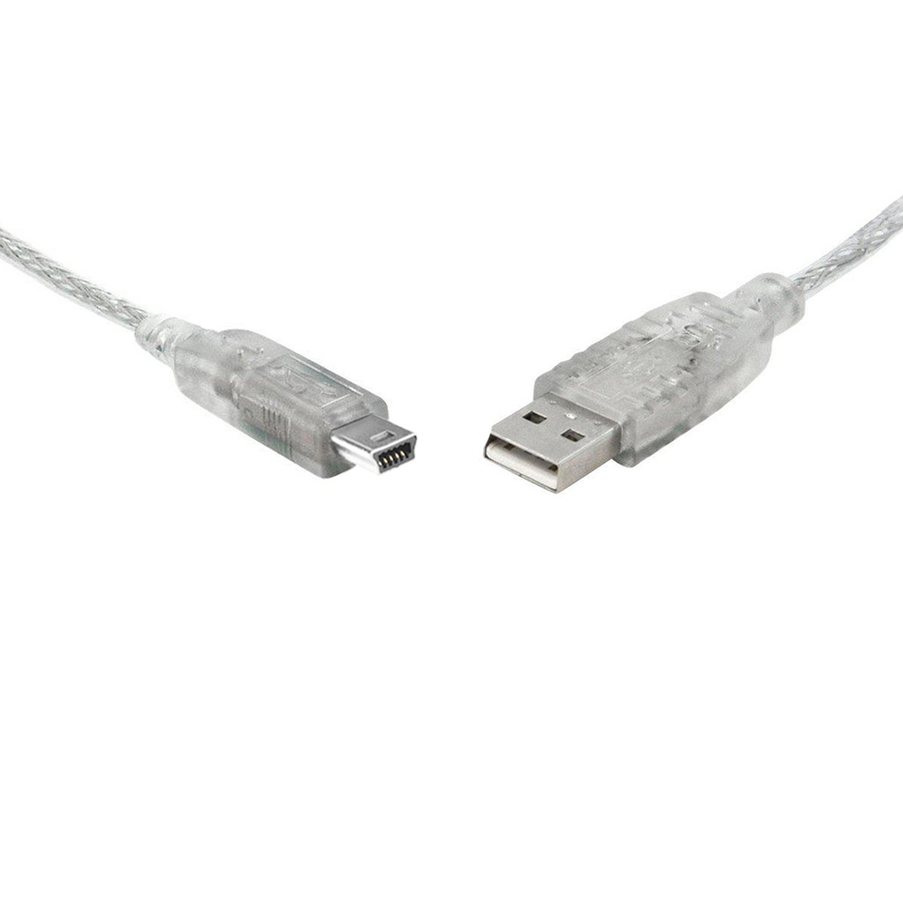 8WARE USB 2.0 Certified Cable A-B 5 Pin Mini 1m