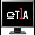 "T1A E190I 19 HP 1280 X 1024 48.3 cm (19"") 1280 x 1024 pixels HD LED Silver"