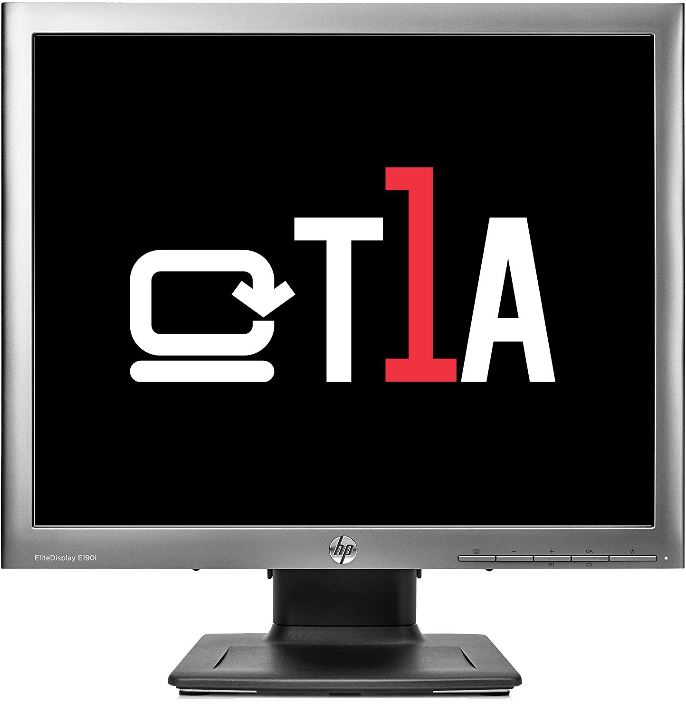 "T1A E190I 19 HP 1280 X 1024 48.3 cm (19"""") 1280 x 1024 pixels HD LED Silver"